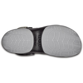 Crocs Swiftwater Deck Clogsit Miehet, black/light grey